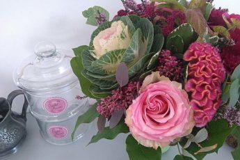 История букета цветов